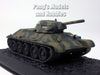 T-34 (T-76) Russian Main Battle Tank 1/72 Scale Diecast Metal Model by Atlas
