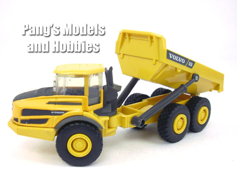 5 Inch Volvo A25G (A25) Articulated Hauler Truck Scale Diecast & Plastic Model by Newray