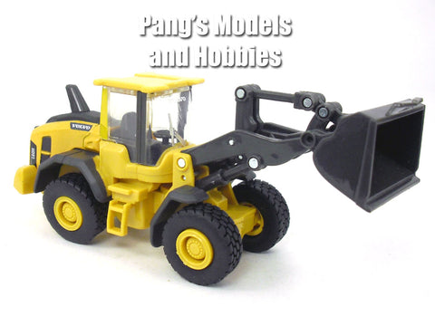 5 Inch Volvo L60H (L60) Wheel Loader Scale Diecast & Plastic Model by Newray