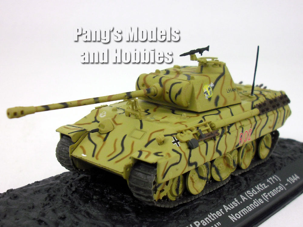 Panther Tank - Panzerkampfwagen V Panther  1/72 Scale Diecast Metal Model by Altaya