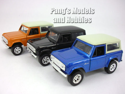 4.5 inch 1973 Ford Bronco 1/32 Scale Diecast Metal Model by Jada