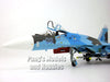 SU-27 Flanker Ukrainian Air Force 1/72 Diecast Metal Model by JC Wings