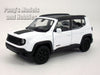 4.5 inch Jeep Renegade Trailhawk 1/32 Scale Diecast Metal Model by Welly