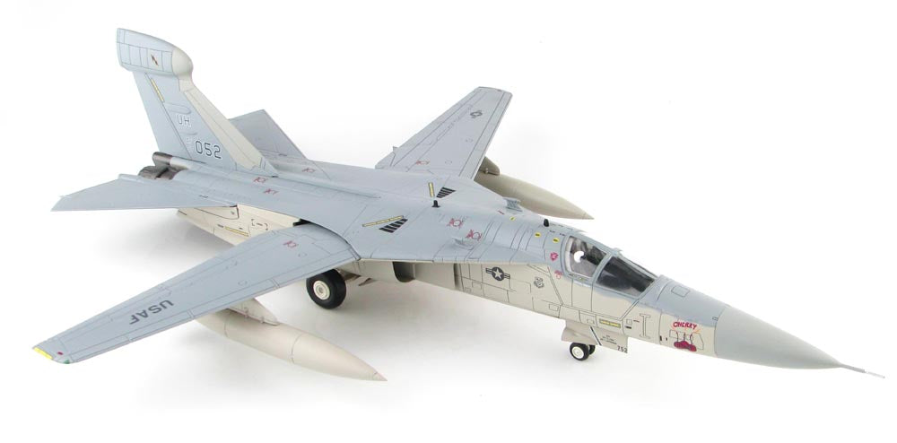 "EF-111 (F-111) Aardvark - Raven - ""Cherry Bomb"" - USAF - 1/72 Scale Diecast Airplane by Hobby Master"