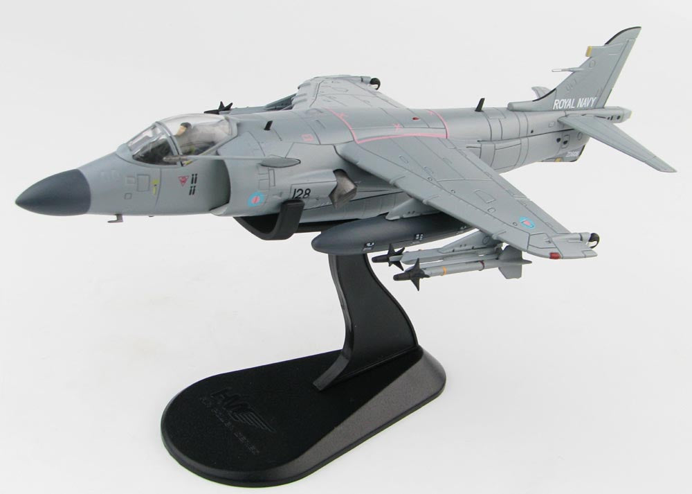 Sea Harrier FA.2 - HMS Invincible 1995 - 1/72 Scale Diecast Metal Model by Hobby Master