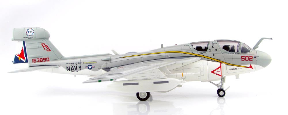 Northrop Grumman EA-6B (A-6) Prowler - VAQ-134 US NAVY - 1/72 Scale Diecast Model by Hobby Master