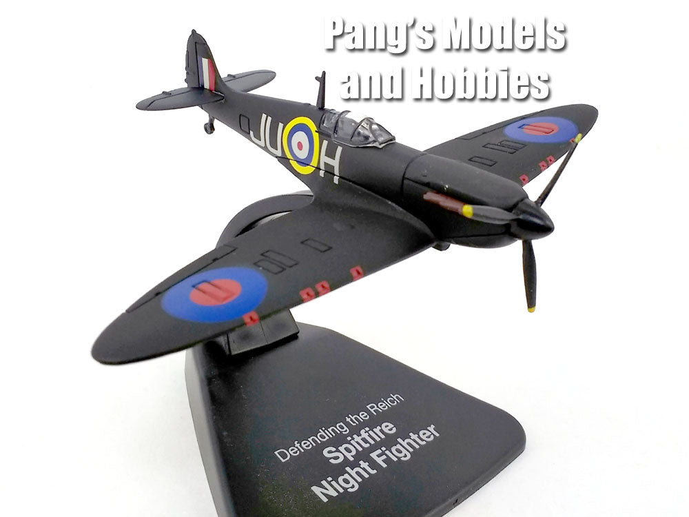 Supermarine Spitfire Night Fighter 1/72 Scale Diecast Metal Model by Atlas