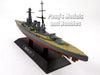 Japanese Battleship Mutsu 1/1100 Scale Diecast Metal Model Ship by Eaglemoss
