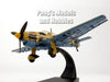 Junkers Ju-87 Stuka German Dive Bomber - Libya 1941 - 1/72 Scale Diecast Metal Model by Oxford
