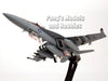 Boeing F/A-18F (F-18) Super Hornet VFA-41 Black Aces USS Nimitz- 1/72 Scale diecast metal model by JC Wings
