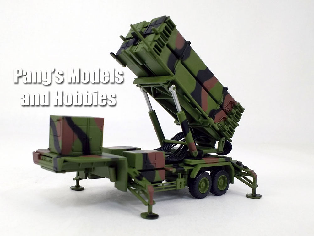 Patriot Missile PAC-3 System M901 Launching Station - Green Camo -1/72 Scale Model by Panzerkampf