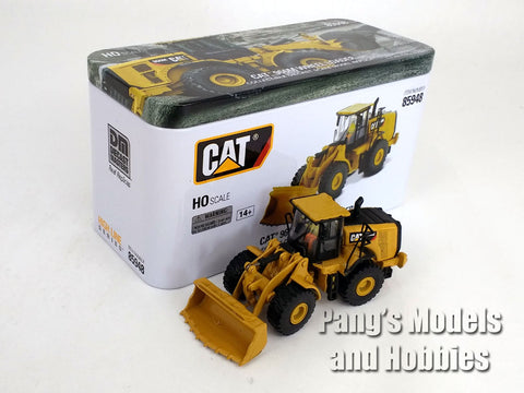 CAT 966M Wheel Loader HO Scale (1/87) - Diecast Model - Diecast Masters