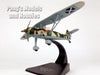 Henschel Hs 126 Reconnaissance - Observation Spain 1938 1/72 Scale Diecast Metal Model by Oxford