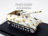 Hummel - Self Propelled Gun - Sd.Kfz. 165 - German Army 1944 - 1/72 Scale Model by Panzerkampf