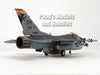 Lockheed Martin F-16 (F-16C) Falcon - 162 Fighter Squadron USAF ANG - 1/72 Scale diecast metal model by JC Wings