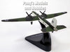 Heinkel He177, He-177, He 177 Griffin, Greif, German Bomber 1/144 Scale Diecast Metal Model by Atlas