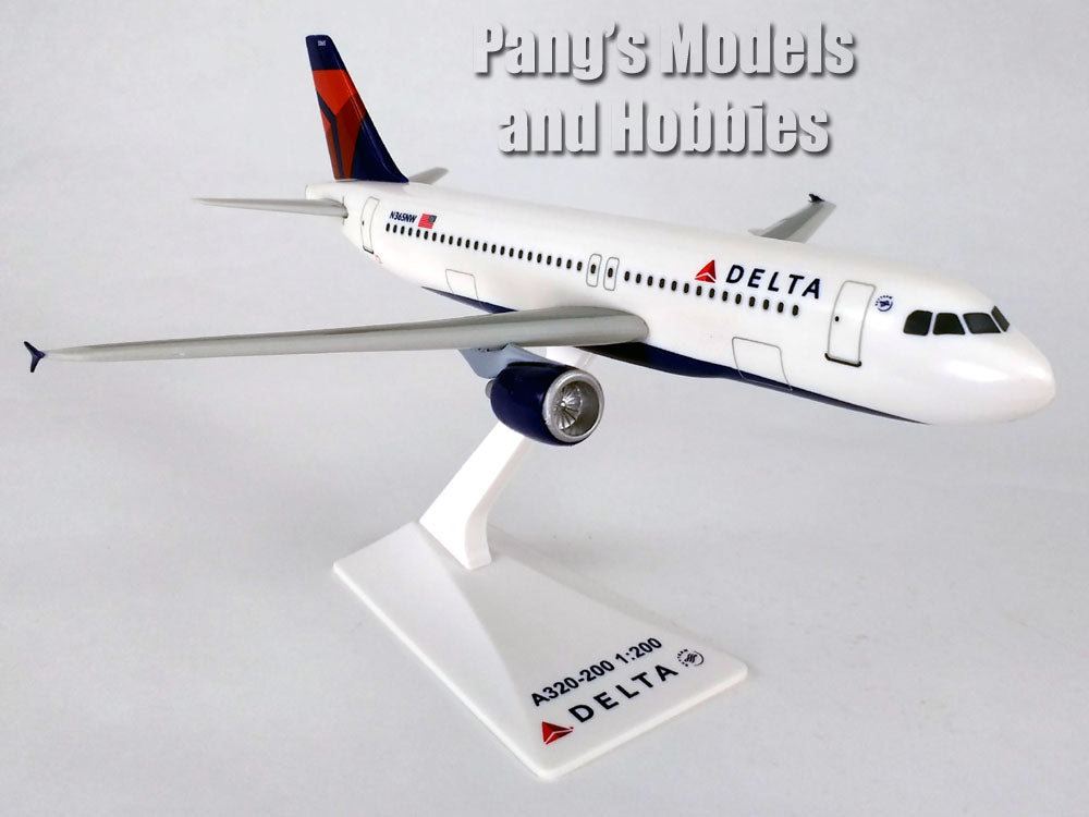 Airbus A320-200 (A320) Delta Airlines 1/200 Scale Model by Flight Miniatures