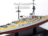 Battlecruiser SMS Derfflinger - Germany - 1/1100 Scale Diecast Metal Model Ship by Eaglemoss (#58)