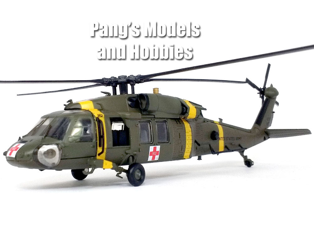 Sikorsky UH-60 Blackhawk (Black Hawk) ARMY 377th Medical Company 1/72 Scale Diecast Metal Model by Air Force 1