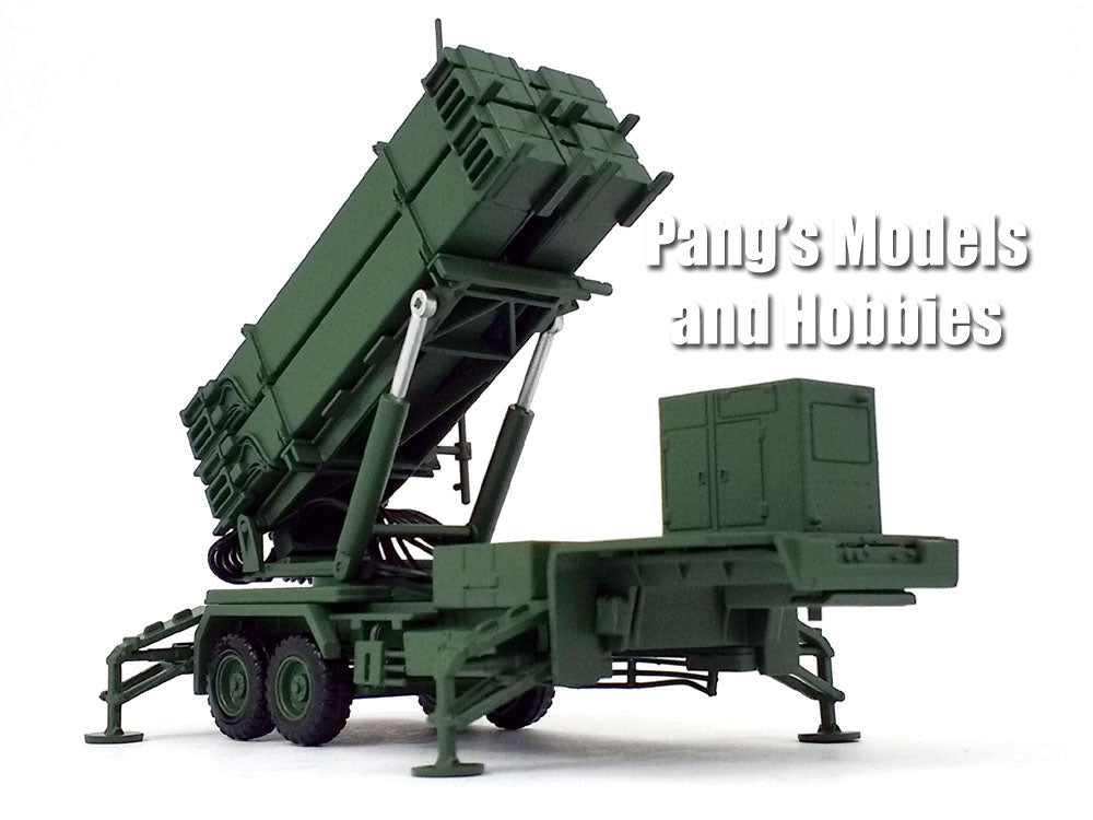 Patriot Missile PAC-3 System M901 Launching Station - Army Green -1/72 Scale Model by Panzerkampf