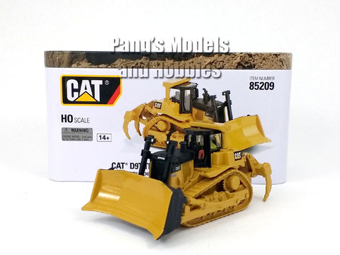 CAT D9T Track Type Tractor - Bulldozer HO Scale (1/87) - Diecast Model - Diecast Masters