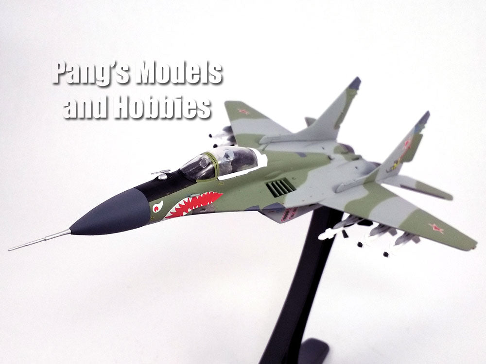 Mig-29 Fulcrum - Russian Air Force - With Display Stand 1/72 Scale diecast model by JC Wings