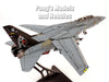 Grumman F-14 Tomcat - VF-154 Black Knights - 1/72 Scale diecast metal  model by JC Wings