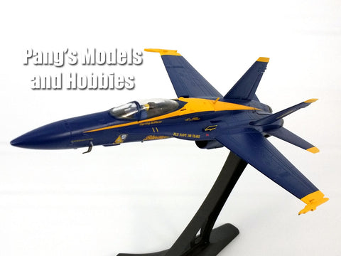 Boeing F/A-18C (F-18) Hornet Blue Angels - US NAVY - 1/72 Scale diecast metal model by JC Wings