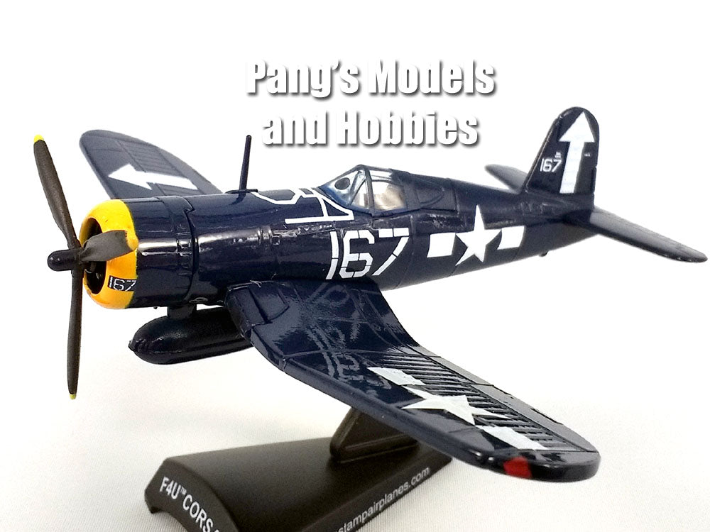 "Vought F4U Corsair VF-84 ""Wolf Gang"" 1/100 Scale Diecast Metal Model by Daron"