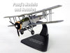 Fairey Swordfish MKI Torpedo Bomber - HMS Furious 1/72 Scale Diecast Metal Model by Oxford