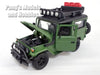 Toyota FJ40 Land Cruiser - Overlander - 1/24 Scale Diecast Metal Model by Motormax