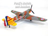 Dewoitine D.520 French Fighter - 1/72 Scale Diecast Metal Model by Atlas