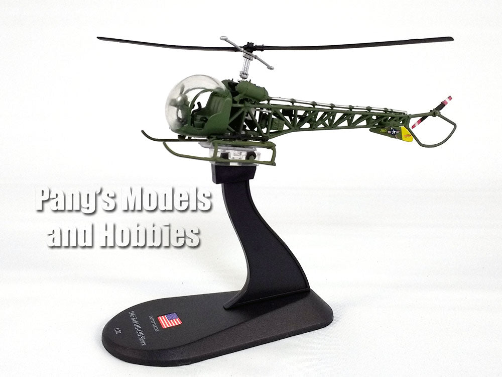 BELL OH-13 G SIOUX USA HEL42 Altaya Helikopter 1:72 New in blister