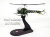 Bell OH-13H (H-13, OH-13) Sioux 1/72 Scale Diecast Helicopter Model by Amercom