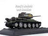 T-34 - T-34-85 Russian Main Battle Tank 1943 1/72 Scale Diecast Metal Model by Amercom
