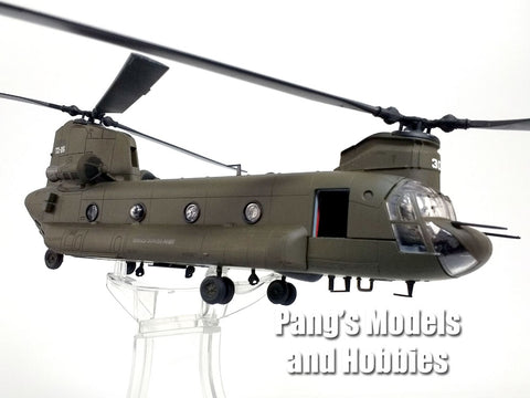 Boeing CH-47 (CH-47D) Chinook - ARMY 101st Airborne - 1/72 Scale Diecast Helicopter Model by Forces of Valor