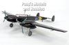 Messerschmitt Bf-110 (Bf-110E) German Bomber - 1/72 Scale Diecast Metal Model by Atlas