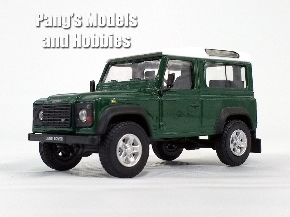 Land Rover Defender - Dark Green - 1/43 Scale Diecast Metal Model by Cararama