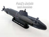 HMS Astute (S119) Royal Navy Nuclear Attack Submarine 1/350 Scale Plastic Model by Easy Model