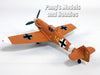 Messerschmitt Bf-109F Trop (Bf-109) 1942 - 1/72 Scale Diecast & Plastic Model by Atlas