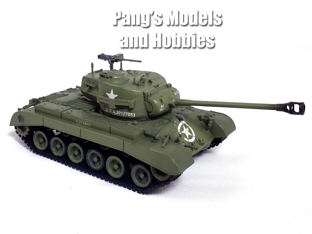 M26 Pershing Main Battle Tank - US ARMY - 1/72 Scale Plastic Model by Easy Model