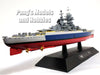 French Battleship Richelieu 1/1100 Scale Diecast Metal Model Ship by Eaglemoss (76)