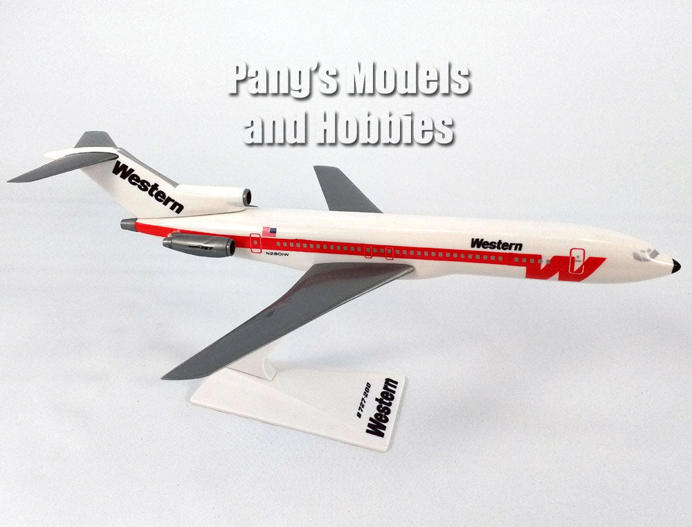 Boeing 727-200 (727) Western Airlines 1/200 Scale Model Airplane by Flight Miniatures