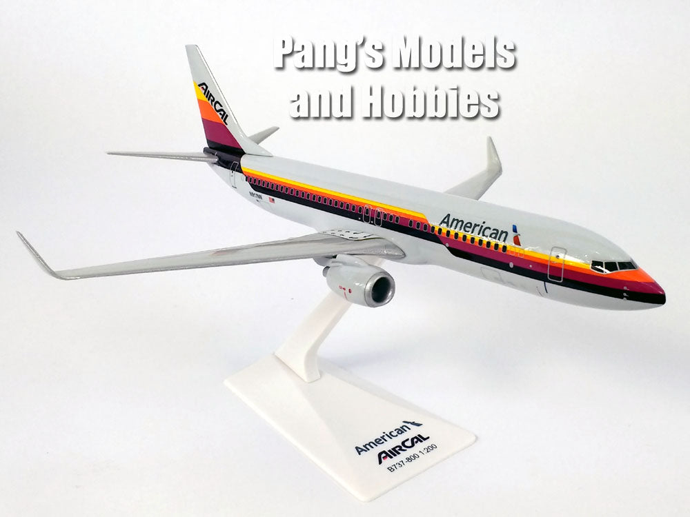 Boeing 737-800 (737) Air California - AirCal - American Airlines 1/200 Scale Model by Flight Miniatures