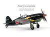 Mitsubishi J2M (J2M3) Raiden - Jack - Japanese Fighter 1/72 Scale Diecast Metal Model