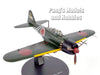 Mitsubishi A6M5 Zero Imperial Japanese Navy Fighter - 1/72 Scale Diecast Metal Model