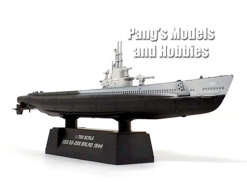 5.25 Inch - USS Balao SS-285 US Navy Submarine 1/700 Scale Plastic Model by Easy Model