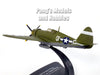 "Republic P-47 Thunderbolt ""Zombie"" Okinawa 1945 - 1/72 Scale Diecast Metal Model by Atlas"