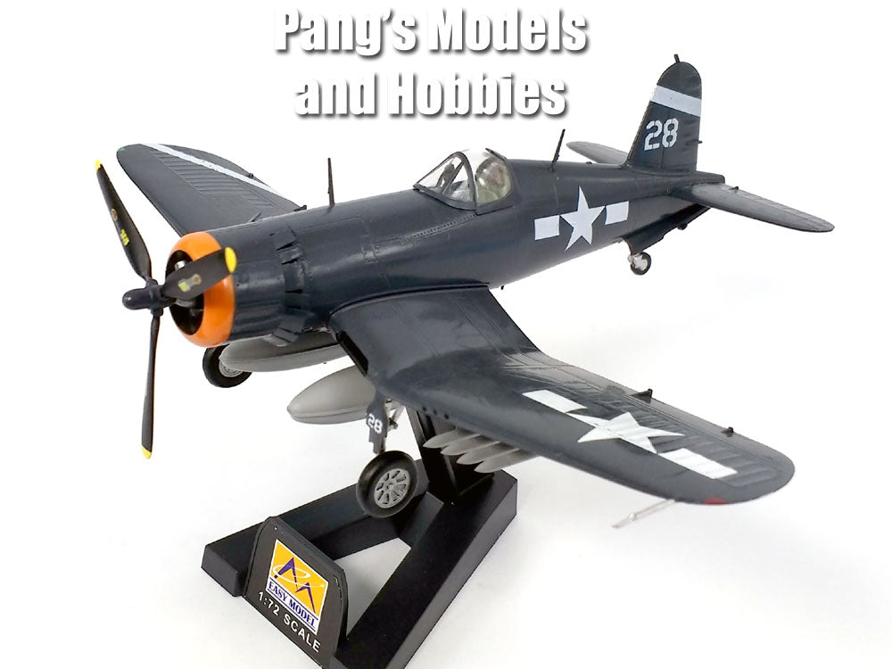 F4U Corsair VF-84 USS Hancock 1945 1/72 Scale Assembled and Painted Model by Easy Model