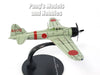 Mitsubishi A6M5 Zero Imperial Japanese Navy Fighter - White - 1/72 Scale Diecast Metal Model